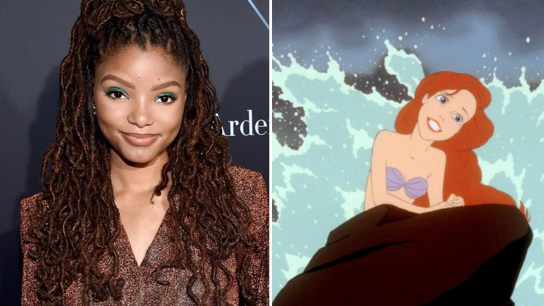 The Little Mermaid Ariel Casting Halle Bailey