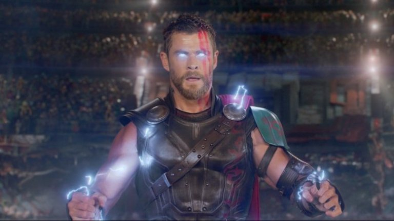 Chris Hemsworth as Marvel's Thor