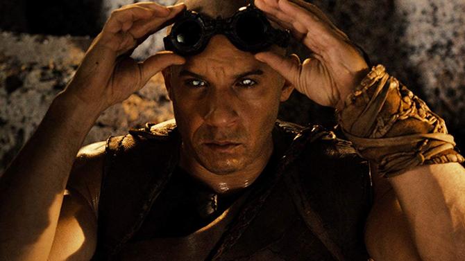 Vin Diesel in Riddick; Universal Pictures