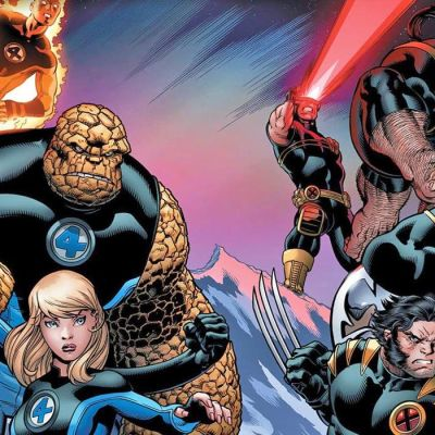 Fantastic Four in Future Foundations by Jonathan Hickman