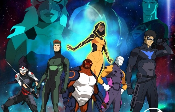 Young Justice Season 3 Team Roster Cast