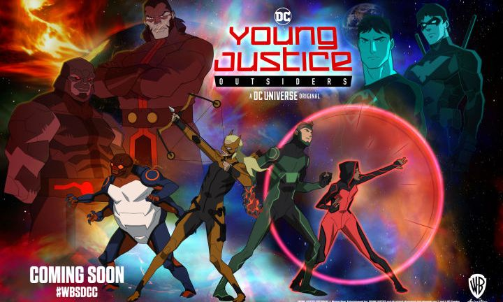 Young Justice Season 3: Outsiders on DC Universe
