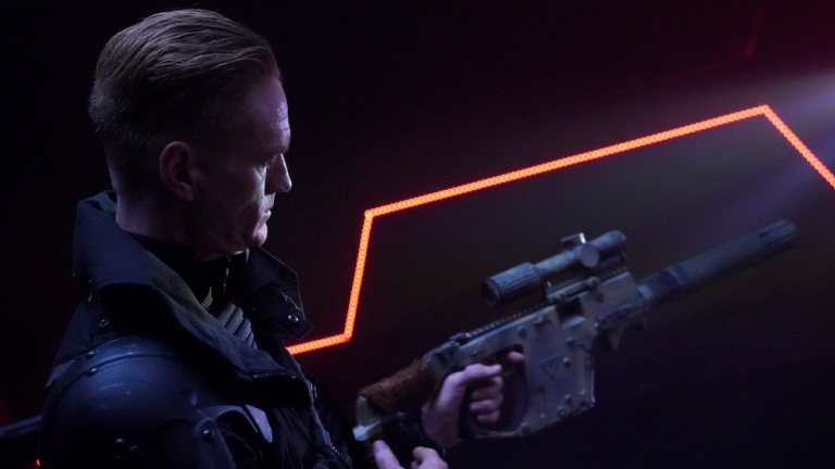 Christopher James Baker as Malachi in Agents of SHIELD