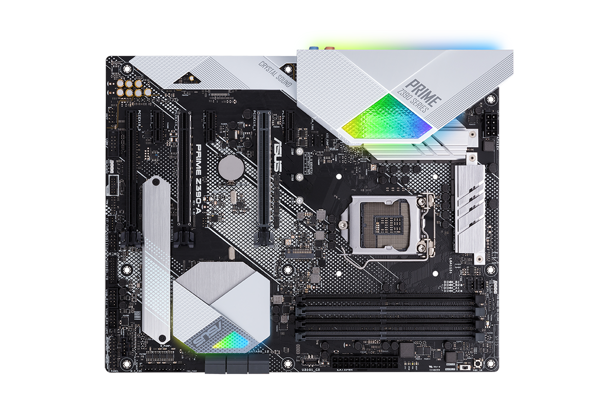 Build Your Own Pc Asus Prime Z390 Motherboard Den Of Geek