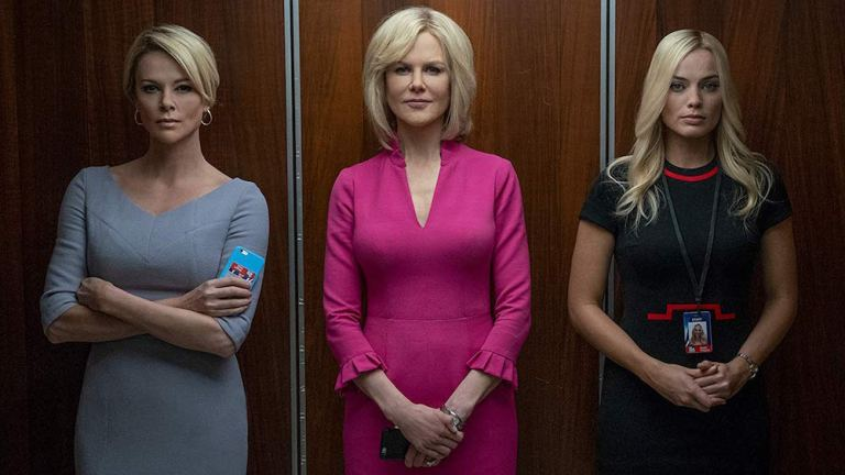 Bombshell Fox News Movie Margot Robbie Charlize Theron