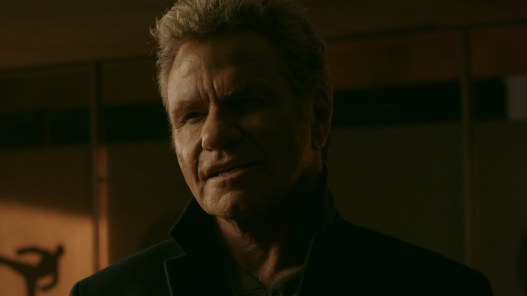 Martin Kove as Kreese on Cobra Kai Season 3