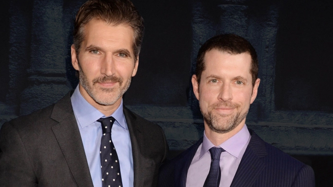 David Benioff and D.B. Weiss; HBO/Jeff Kravitz