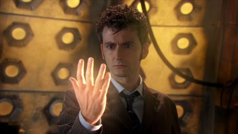 """David Tennant in Doctor Who's """"The End of Time"""""""
