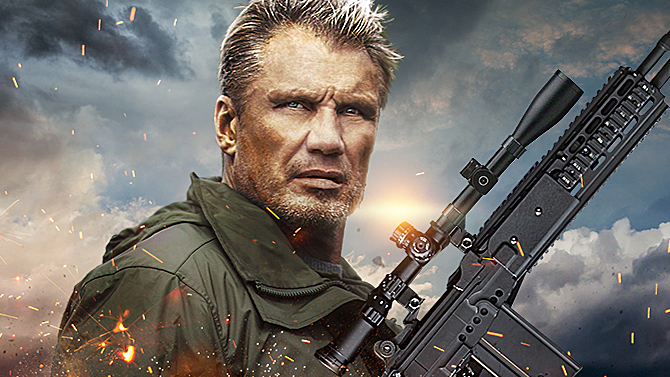 Dolph Lundgren in The Tracker; Lionsgate