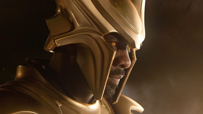 Idris Elba as Heimdall in Marvel's Thor Movies