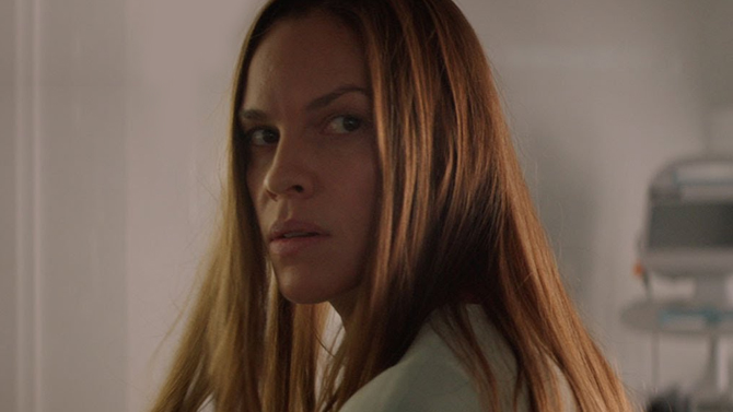 Hilary Swank in I Am Mother; Netflix