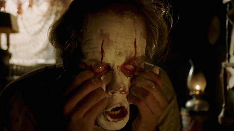 IT: Chapter Two Trailer - Pennywise Tearing Off His Face