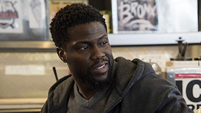 Kevin Hart in The Upside; Amazon Prime Video