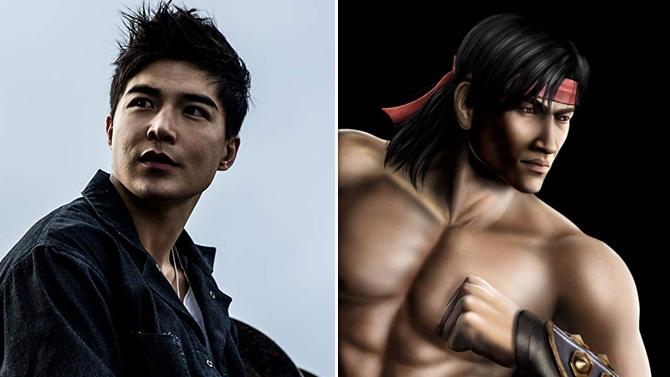 Ludi Lin in Power Rangers, Liu Kang in Mortal Kombat