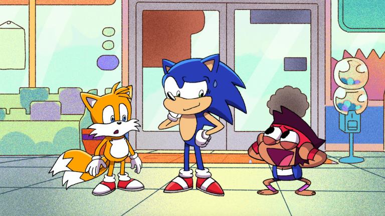 Sonic the Hedgehog and OK KO Team-Up