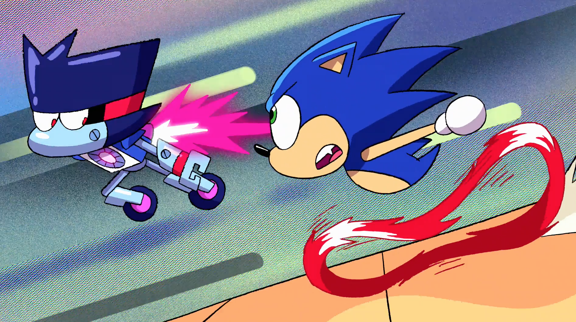 How The Sonic The Hedgehog Ok K O Team Up Happened Den Of Geek