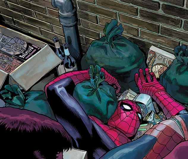 Spider-Man in a Dumpster
