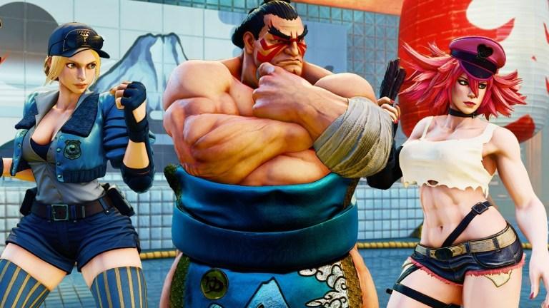 Street Fighter V: E. Honda, Lucia, Poison