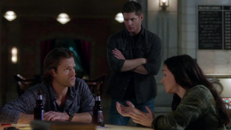 Sam and Dean With Eileen, A Returning Character in Supernatural Season 15