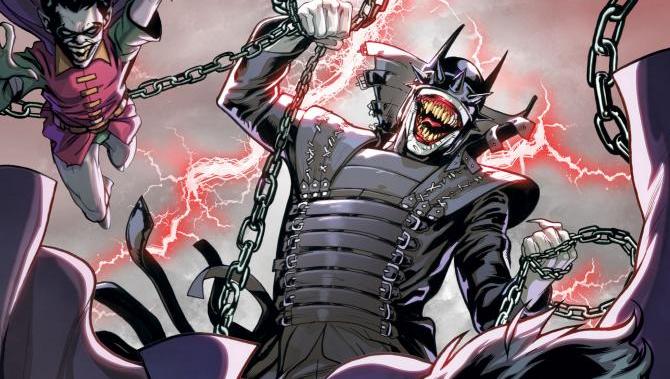 Batman/Superman #4 Cover with The Batman Who Laughs