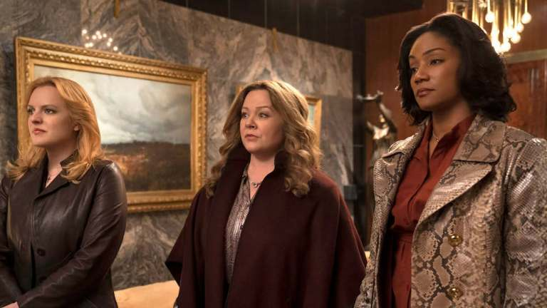 The Kitchen Review Melissa McCarthy Elisabeth Moss