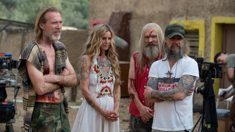 Rob Zombie and the Cast of 3 From Hell