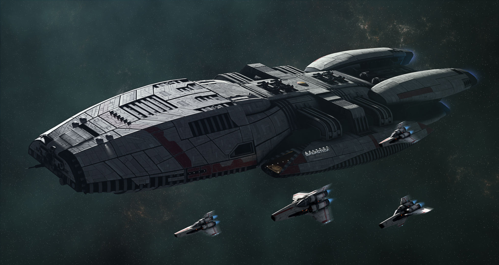 New Battlestar Galactica Series Won't Be a Remake | Den of Geek