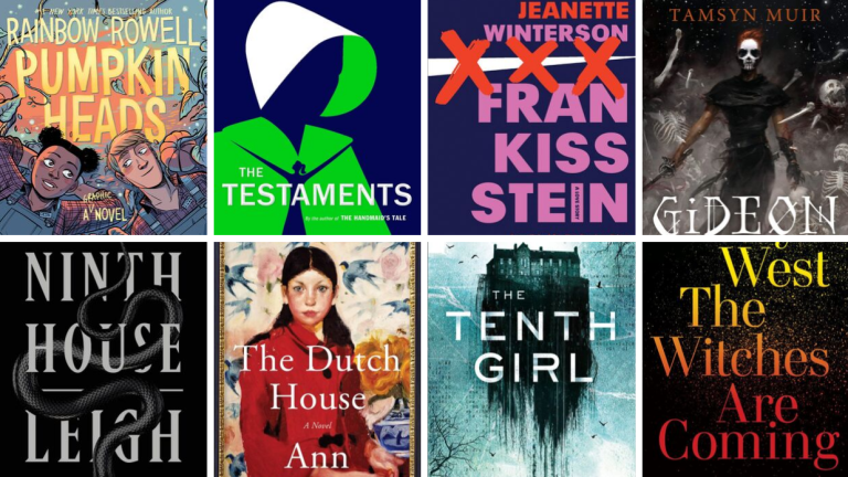 Covers of Best Fall 2019 Books