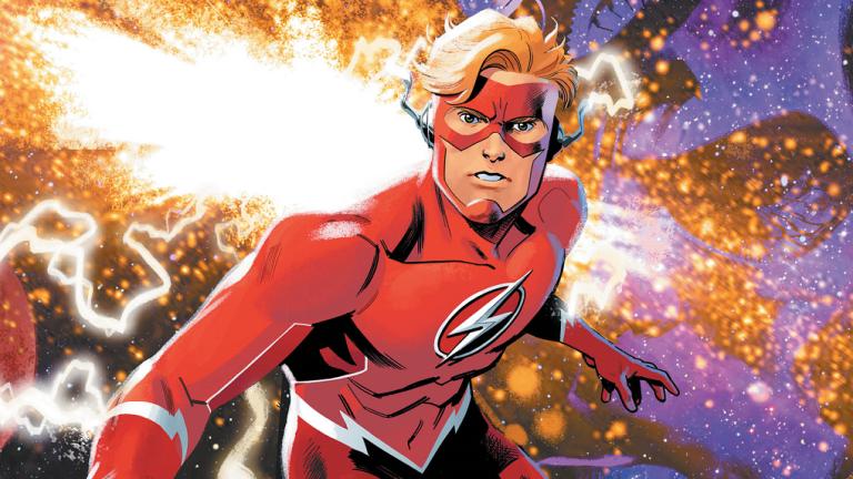 DC Flash Forward #1 Cover Wally West