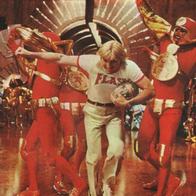 Flash Gordon (1980) Football Fight