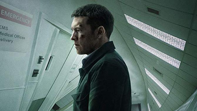 Sam Worthington in Fractured; Netflix