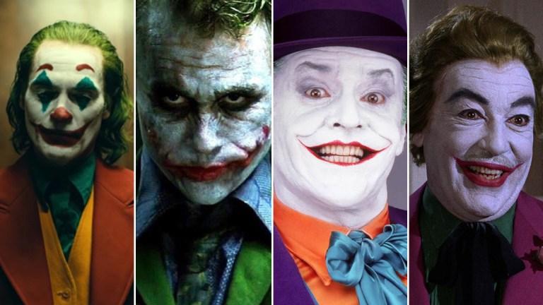 Actors who've played The Joker