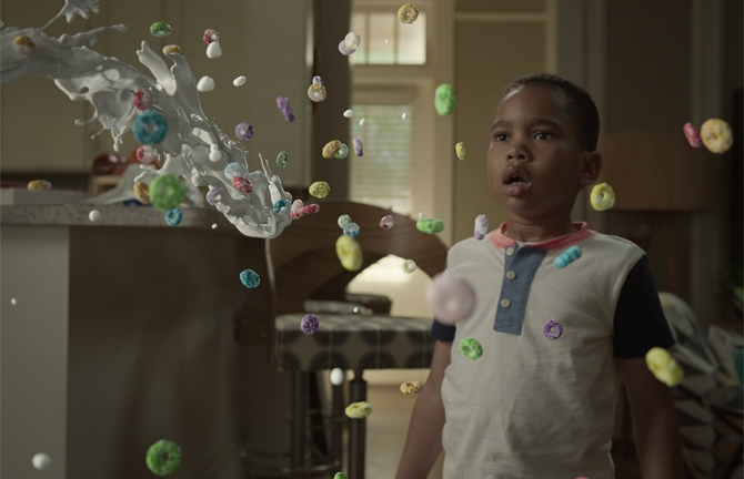 Dion uses his powers in Netflix's Raising Dion