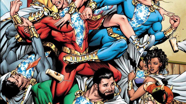 Shazam #7 Cover (DC Comics)