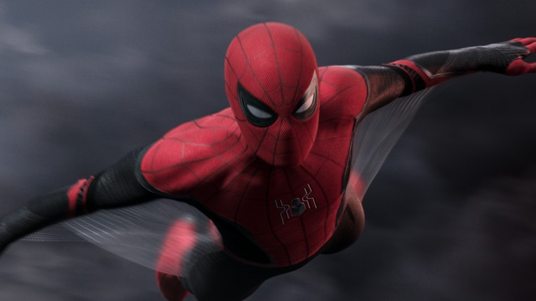 Spidey in Spider-Man: Far From Home