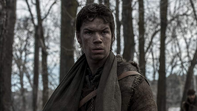 Will Poulter in The Revenant; 20th Century Fox