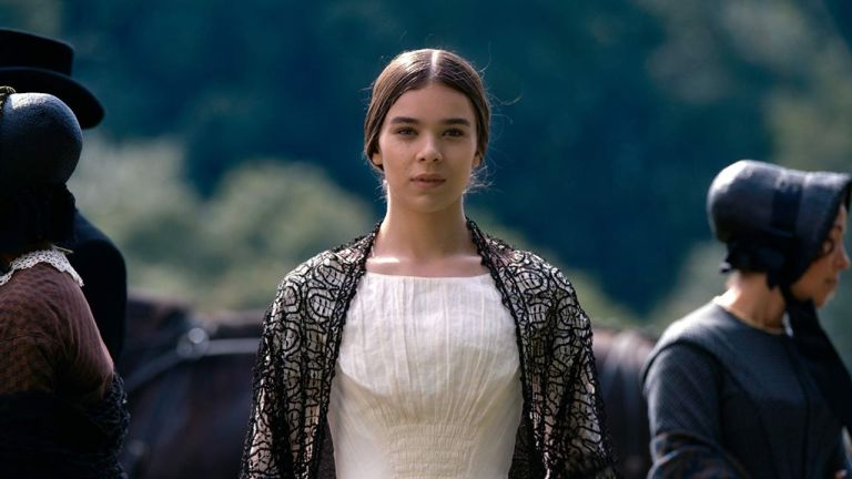 Hailee Steinfeld as Emily Dickinson in AppleTV+'s Dickinson Series