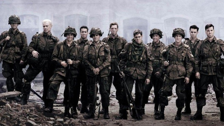 Band of Brothers poster; HBO