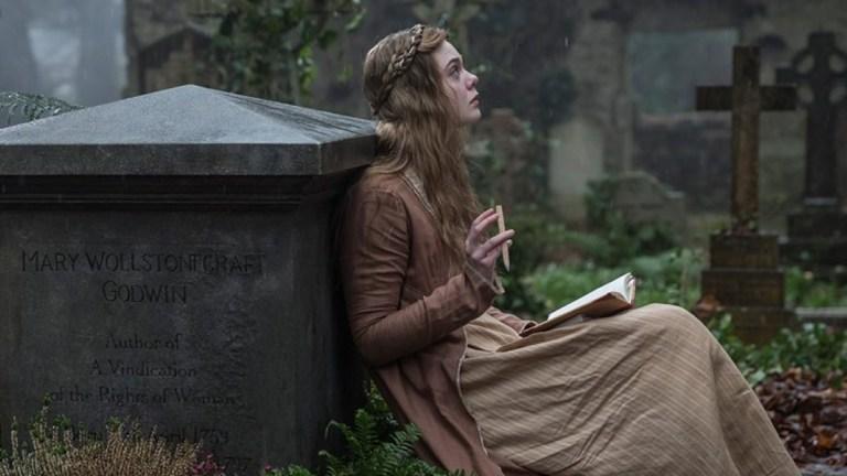 Elle Fanning in Mary Shelley; IFC Films