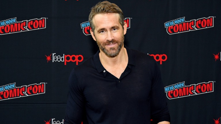Free Guy Ryan Reynolds NYCC Footage Description