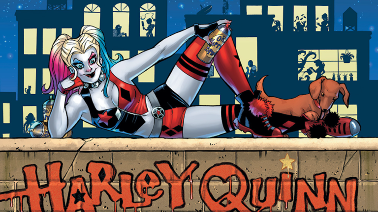 Harley Quinn and the Birds of Prey by Amanda Conner (DC Comics)