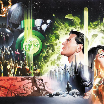 New History of the DC Universe (Alex Ross art)