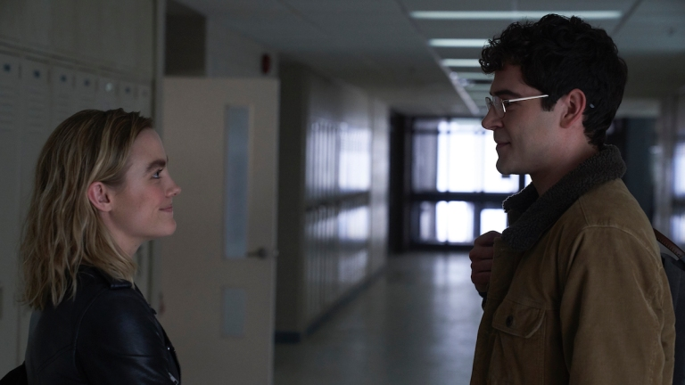Maddie Hasson and Daniel Maslany as Henry and Townes in Impulse