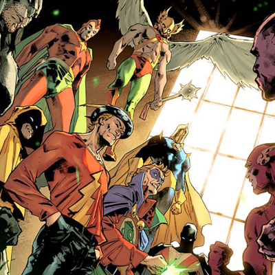 The Justice Society of America in Justice League #31