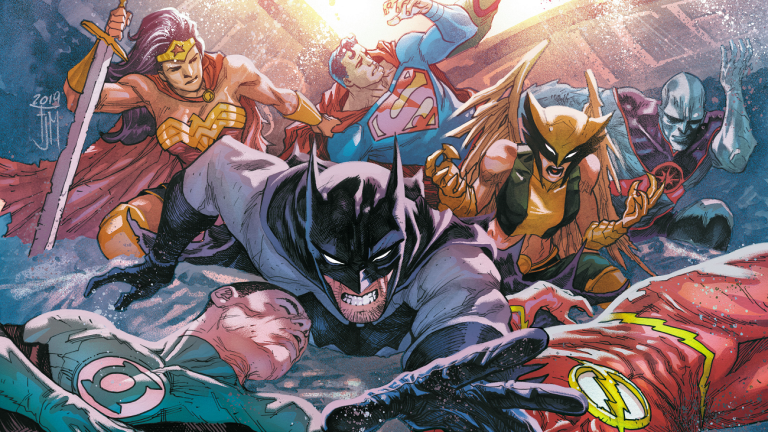 Justice League 34 Cover