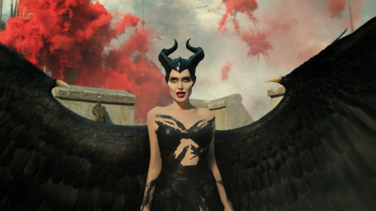 Angelina Jolie in Maleficent: Mistress of Evil and Director Interview