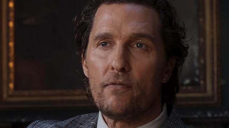 Matthew McConaughey in The Gentlemen; STX Films