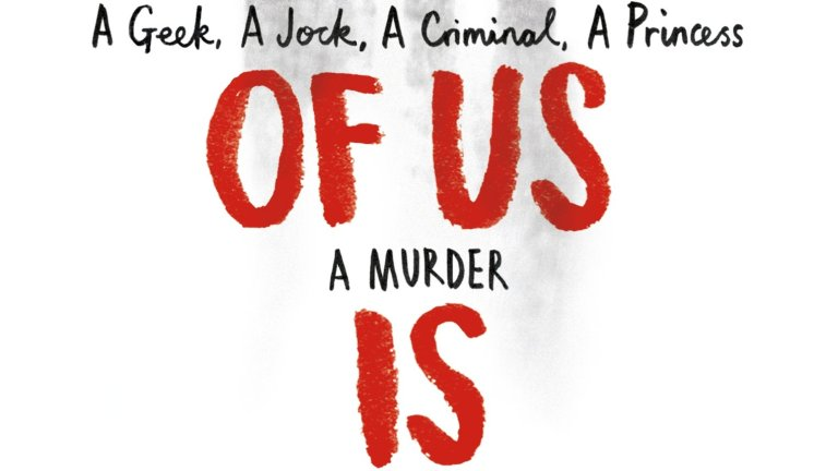 The Cover For the Book One Of Us Is Lying