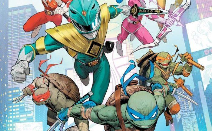 Power Rangers/Ninja Turtles Is An Epic Comics Crossover