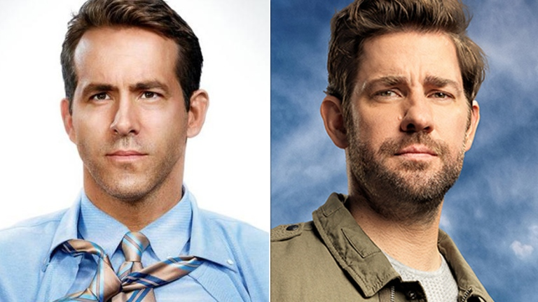 Ryan Reynolds in Free Guy, John Krasinski in Jack Ryan; Fox, Amazon